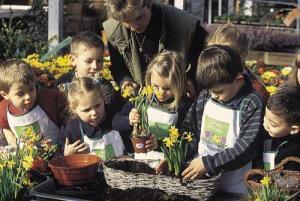 activités pour enfants jardinage