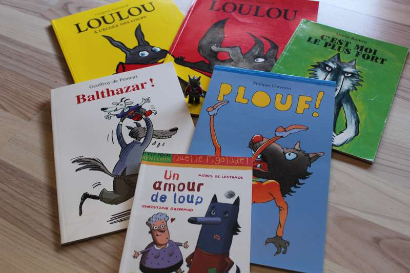 livre pour enfants des loups sous toutes les coutures 1. Black Bedroom Furniture Sets. Home Design Ideas